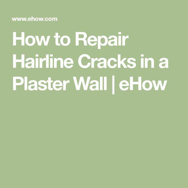 As 25 Melhores Ideias De Repairing Plaster Walls No