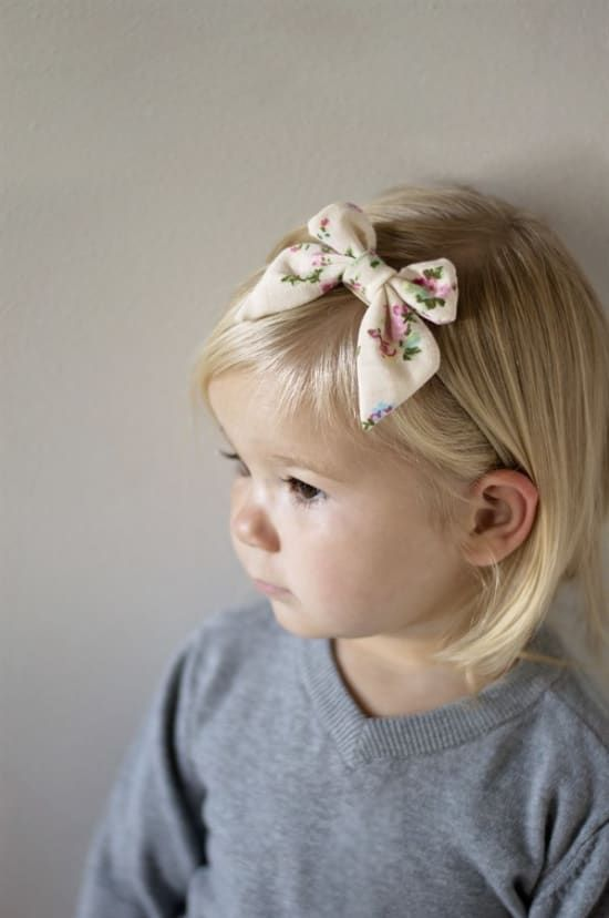 Plaid and Floral Nylon Bows