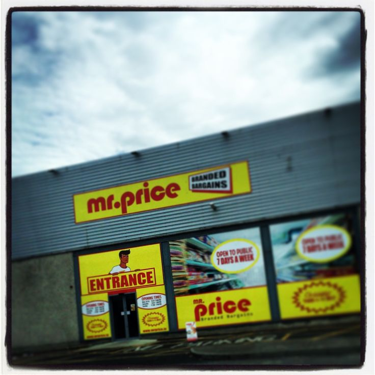 Mr. Price in Tallaght