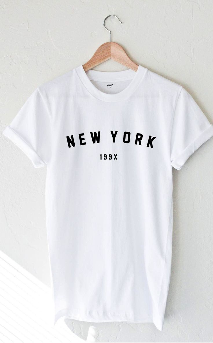 New York 199x T-shirt - White from NYCT