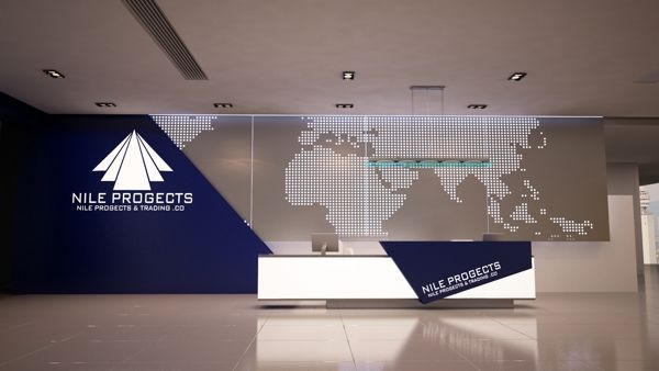 Company Reception Counter Design on Behance