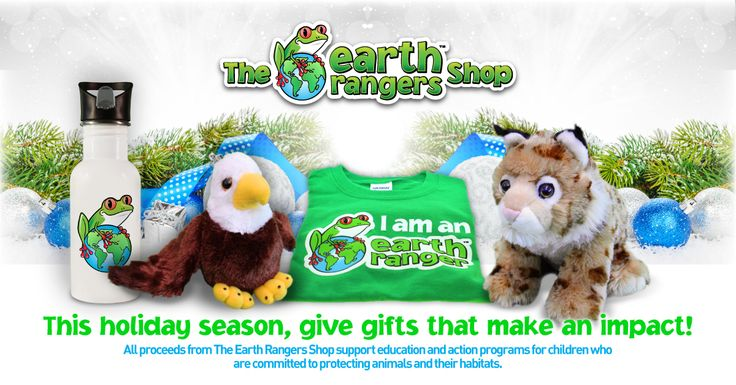 This Holiday Season, give gifts that make an impact http://www.theearthrangersshop.com/