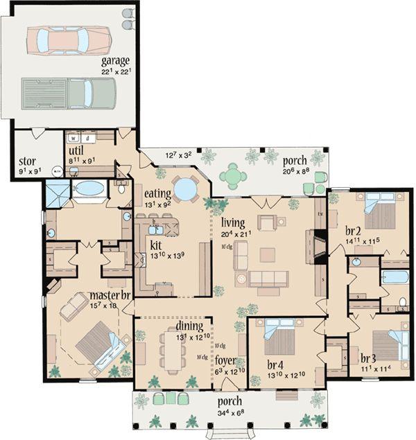 300 best floor plans images on pinterest | house floor plans