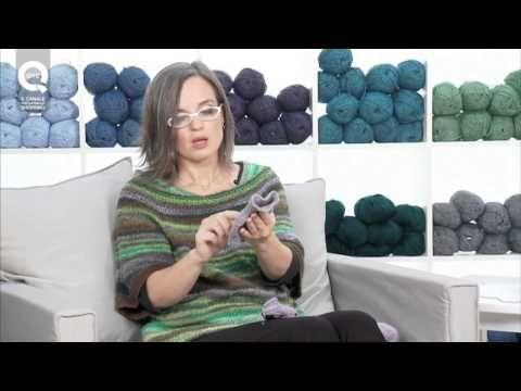 Realizzare un guanto a maglia/1 Presenta Emma Fassio - YouTube