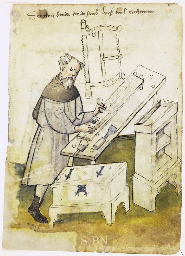 St. Thomas guild - medieval woodworking, furniture and other crafts: