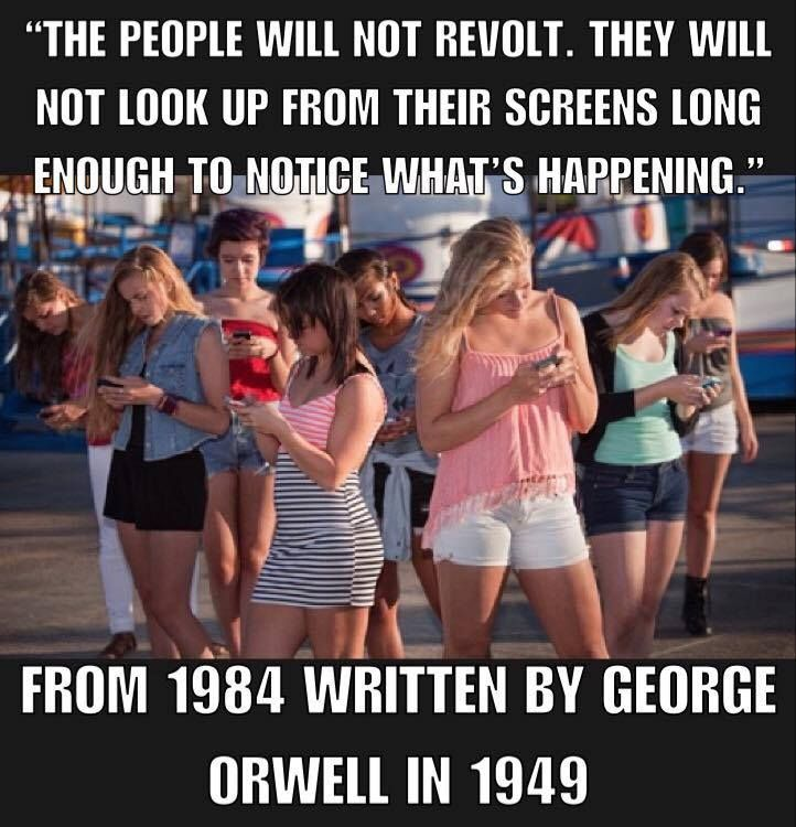 REVOLUTION? Only when the masses overcome the distractions put intentionally  into their path.