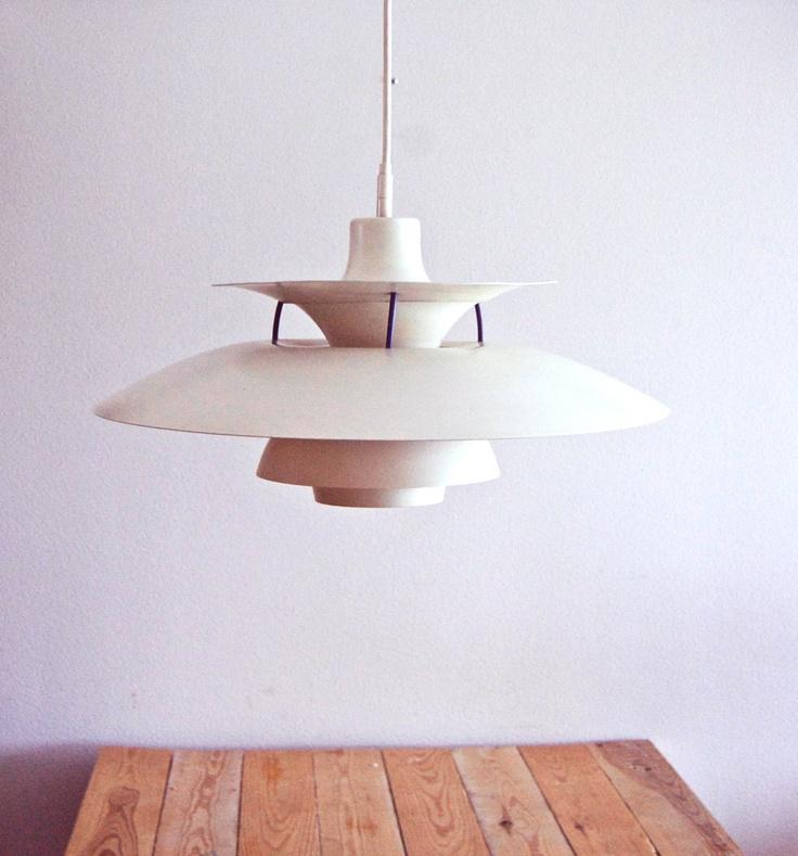 Danish designer Poul Henningsen PH 5 pendant 1958. Design classic  Holy Grail of lamps...