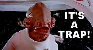 admiral ackbar it's a trap - Bing Images