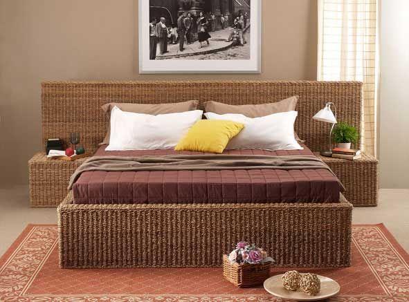 brown wicker bedroom furniture | Roselawnlutheran