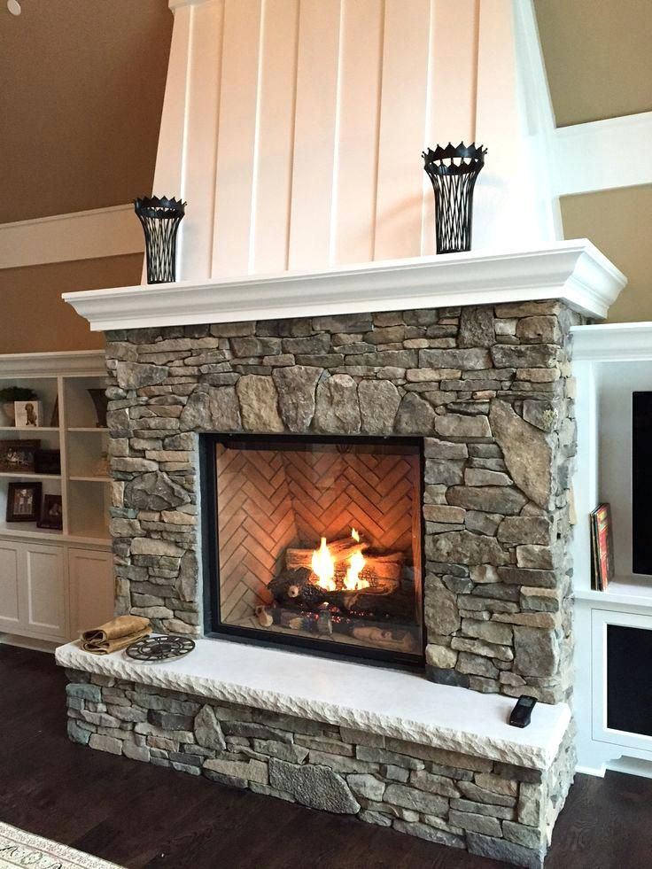 Stone Ventless Gas Fireplace Inserts Country Fireplace