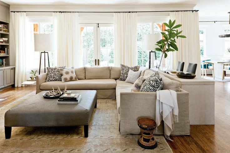 17 Best Ideas About Long Living Rooms On Pinterest