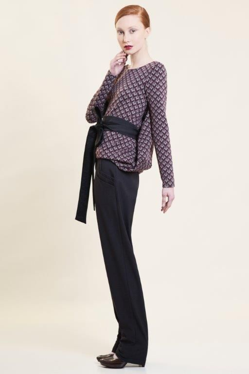 multifunctional knitted top Autumn Winter 2015