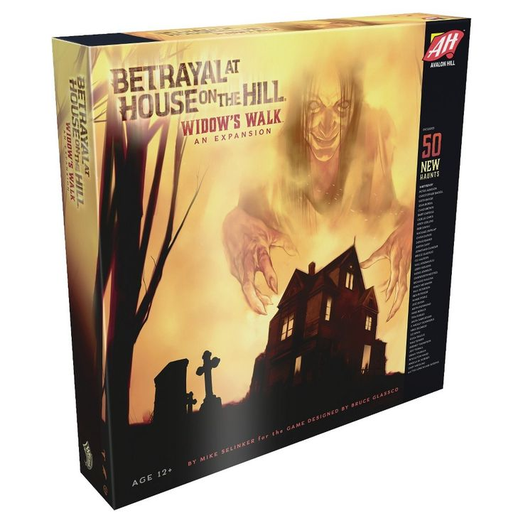 Betrayal at House on the Hill (Widows Walk)