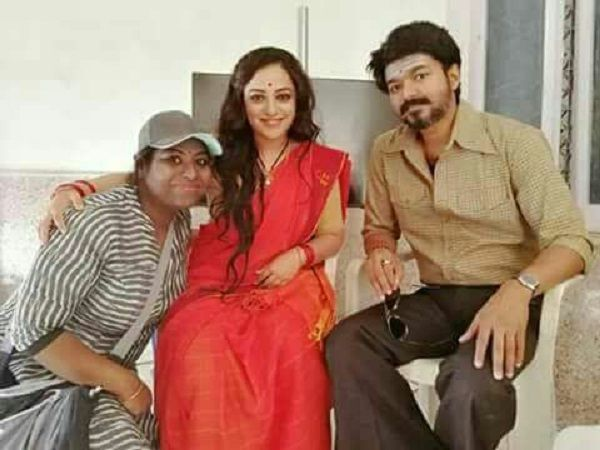 Thalapathy Vijay's Mersal finally introduces its third female lead, Nithya Menen – view pic #FansnStars