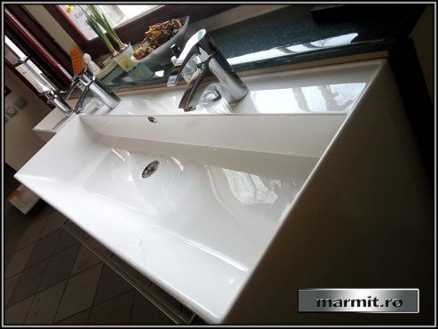 Lavoar compozit marmura Dedra | Marmit - Obiecte sanitare