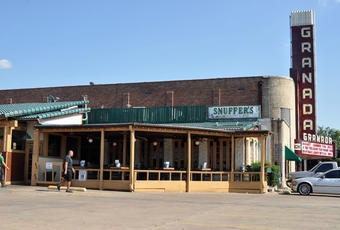 Snuffer's Restaurant - The original location on lower Greenville avenue.  One of the few places I'll miss when I leave texas.