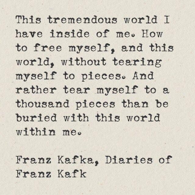 Kafka Quote Meaning Of Life: 28 Best Frantz Kafka Images On Pinterest
