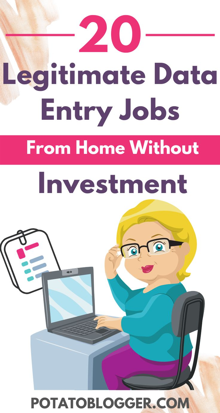 20 Legit and HighPaying Data Entry Jobs From Home Without