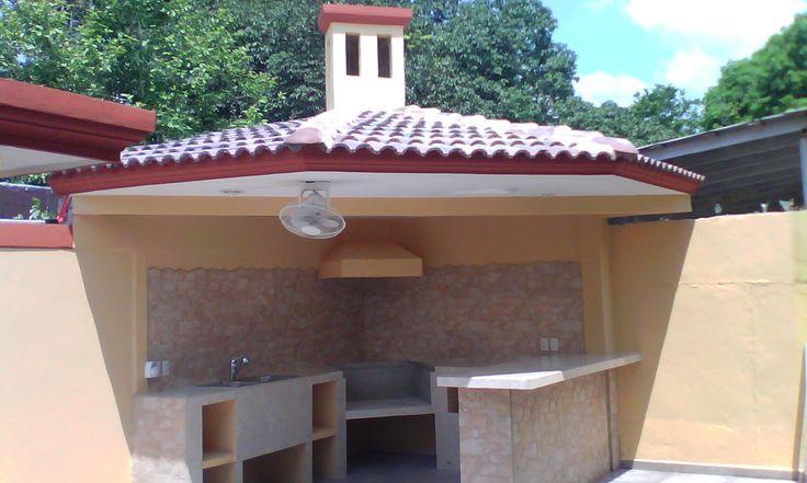Asador para area de jardin asador area de jardin pinterest for Jardines pequenos con ladrillos