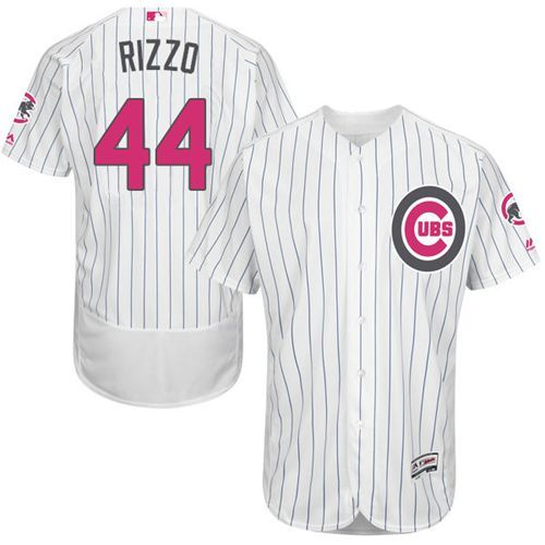 d231e88987d ... discount cubs 44 anthony rizzo whiteblue strip flexbase authentic  collection mothers day stitched mlb jersey 001e1