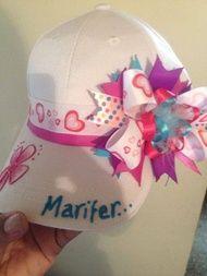 gorras para niñas decoradas - Buscar con Google