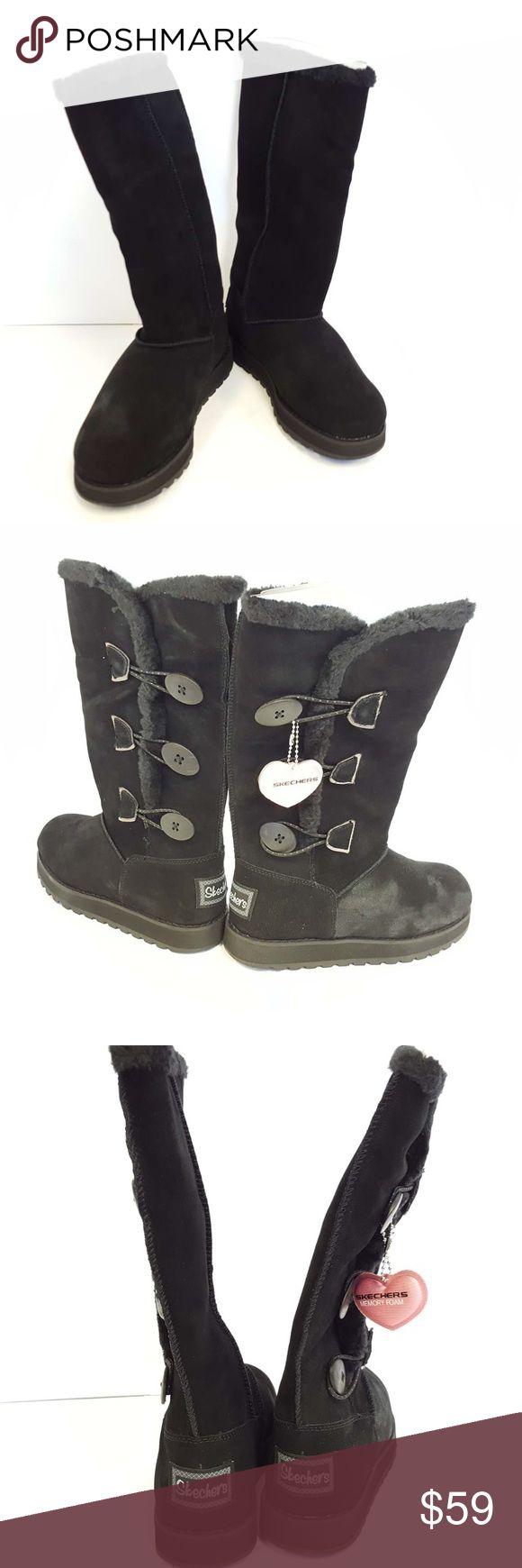 Sketcher's Boots brand new Brand new sketchers boots blk Skechers Shoes Winter & Rain Boots