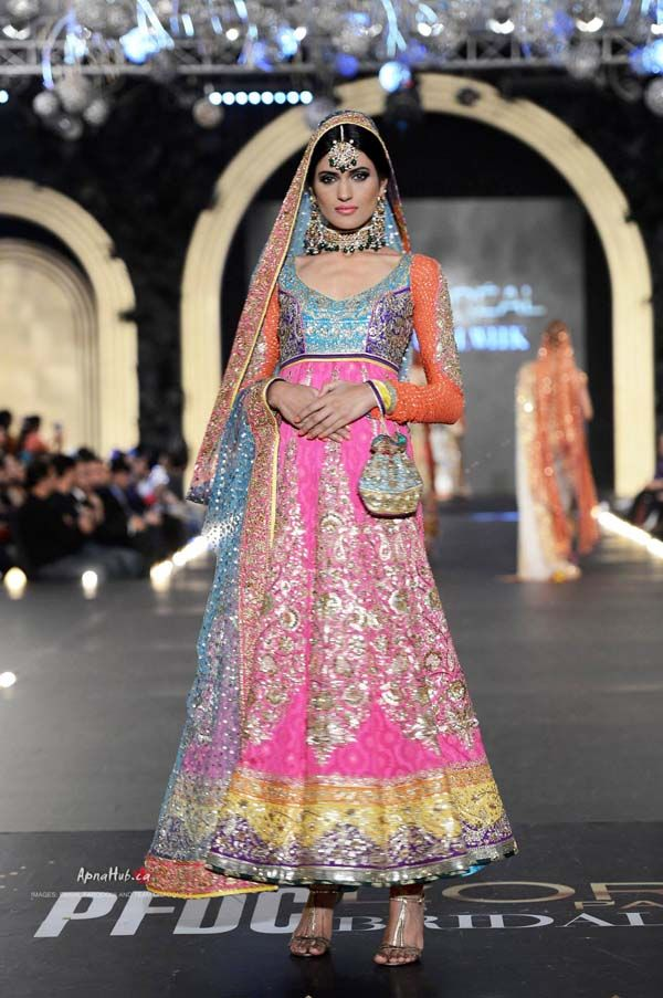 PFDC L'Oreal Bridal Fashion Week 2013 – Nomi Ansari