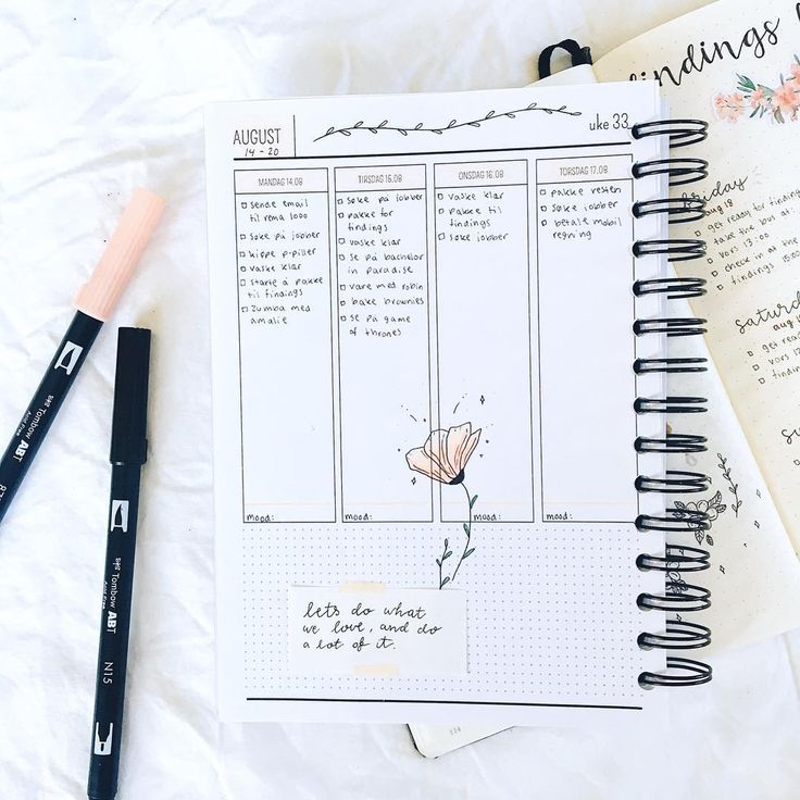 """1,191 Likes, 8 Comments - [ e l i n e ] (@journalbeanie) on Instagram: """"Trying out @organized.no 's student journal this week (Norwegian brand) I like it, and how it…"""""""