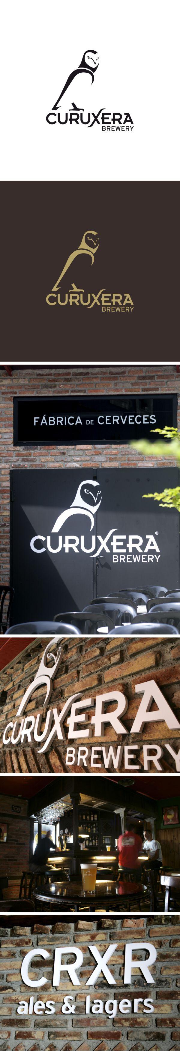 Curuxera Brewery. Marca para cerveza artesanal de barril