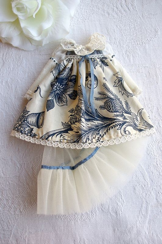 For Annie ≈ Delft Dress ≈ | by Kikihalb ♧ Forest~Tales ♧