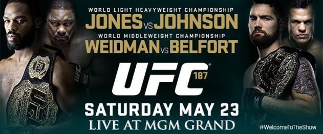 UFC 187: Jones vs. Johnson; Weidman Collides With Belfort