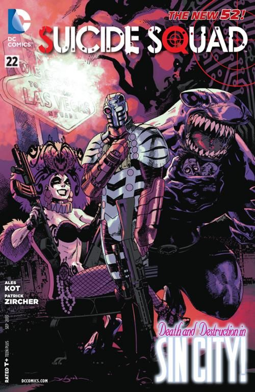 Suicide Squad (Vol 4) #22: Light At The End Of The Tunnel (September, 2013)