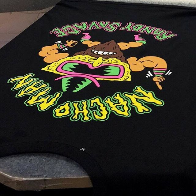 "CRMC x @russelltaysom ""Nacho Man"" Tank Top Available at www.crmcclothing.co | WE SHIP WORLDWIDE #summer #summertime #summerwear #summerstreetwear #streetwear #alternative #alternativestreetwear #altwear #alt #altlife #altlifestyle #streetstyle #style #wwe #wrestling #wwf_the_federation_years #classicwwf #80s #machomanrandysavage #machoman #nachos #nachoman #blackwear #wearblack #retro #mexicanfood #tanktop #vest #bodysuit #darkwear"