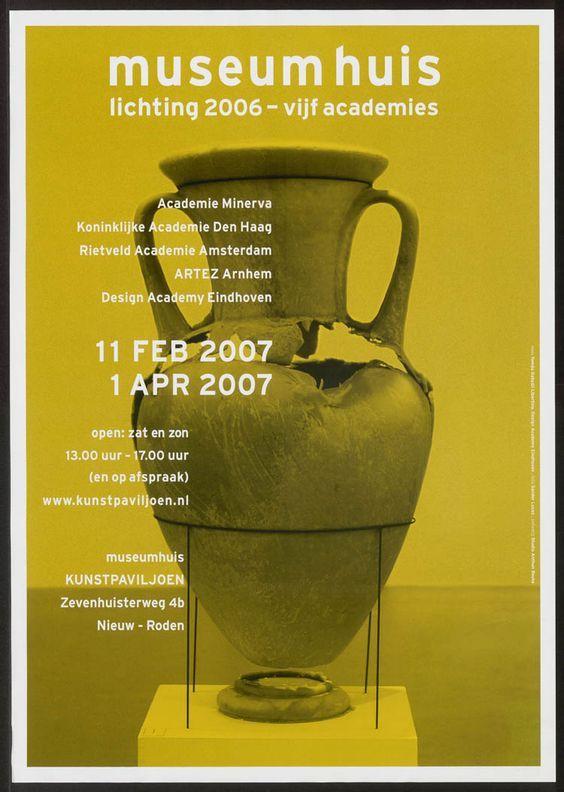 Anthon Beeke – Museum Huis poster   #newdesignmuseum  via @GraphicShowroom