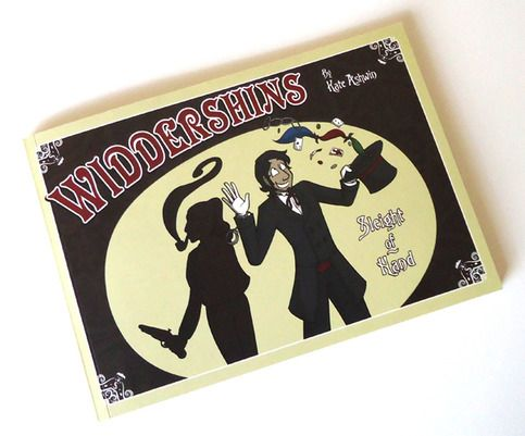 Widdershins Vol. 1 - Sleight of Hand - fun tale of magic, trickery and detectives