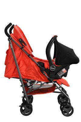 Brion Mira Seyahat Sistemi Bebek Arabası - Kırmızı