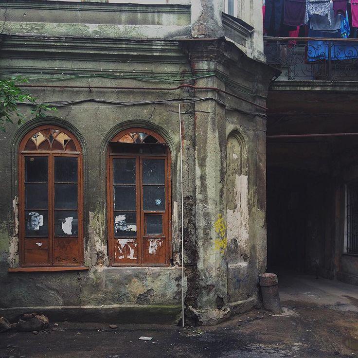 Одесские дворики ходить не переходить // Odessa yards.