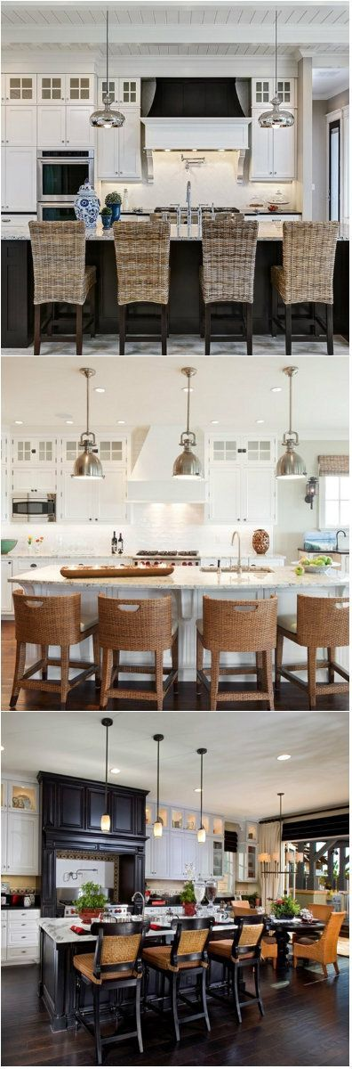 20 Interesting Rattan Chairs You Can Add To Your Kitchen If you think rattan chairs in the kitchen doesn't look good. Think again!     Rattan belongs to the palm tree family that is native to Asian countries, Africa and some other tropical country. For people living in tropical... #RattanChair