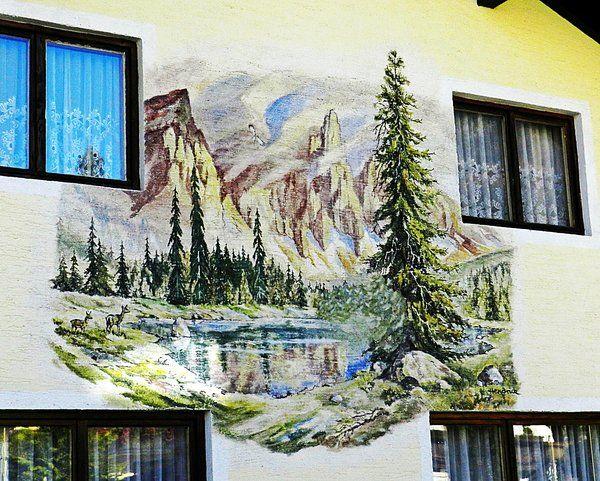 wandmalerei, fassadenmalerei, lüftlmalerei, malerei-an-der-hauswand, hauswand-malerei