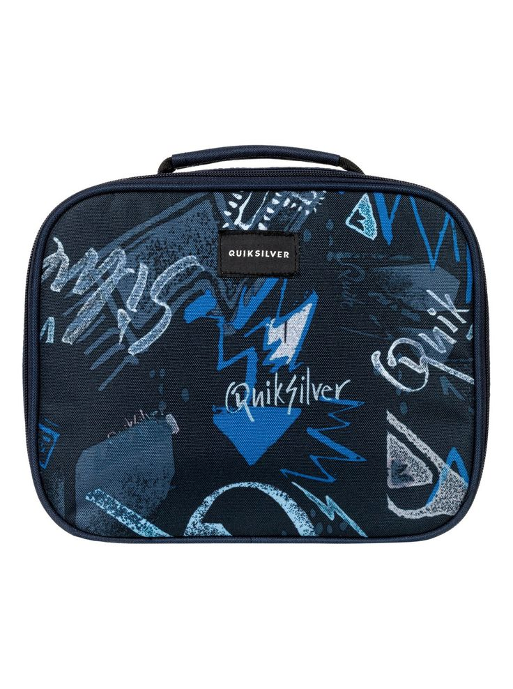 quiksilver, Lunch Lady Land - Lunch box isotherme, DARK DENIM THUNDERBOLTS (brq8)