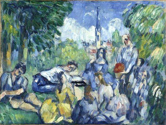 Le Déjeuner sur l'herbe - Cézanne