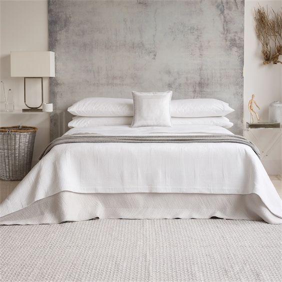 M s de 25 ideas incre bles sobre colcha blanca para cama - Colcha blanca zara home ...