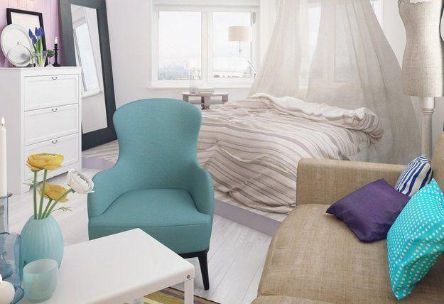 Проект недели: квартира для девушки http://www.inmyroom.ru/posts/proekt-nedeli от @InMyRoom_ru