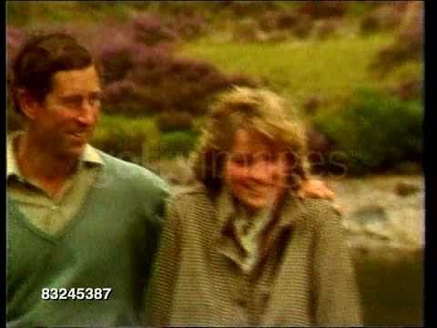 Princess Diana: honeymoon at Balmoral  Balmoral, Scotland . August 19, 1981.