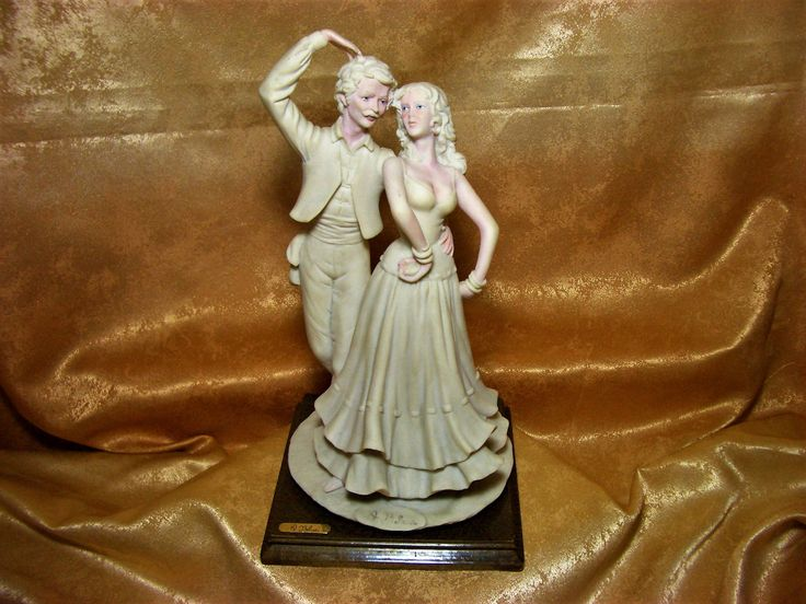"Alabaster sculpted Art Nouveau statue, ""Flamenco"" by Auro Belcari, signed, collection, gift, vintage by AntiqueBoutiqueZ on Etsy"