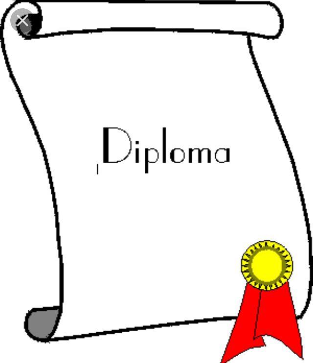 Dit is een mooi plaatje van een diploma zoals ik een diploma voor mij zie. Ik ga een diploma maken en vond dit een heel duidelijk en goed na te maken plaatje. Het diploma wat ik ga maken wordt van metaal.