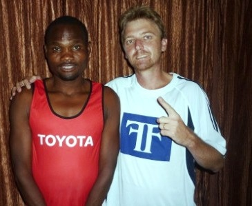 The truth is out! Who is @StephenMuzhingi running for in 2013? « muzhingi5h23 - Here he is with Exclusive Worldwide Manager, Craig Fry
