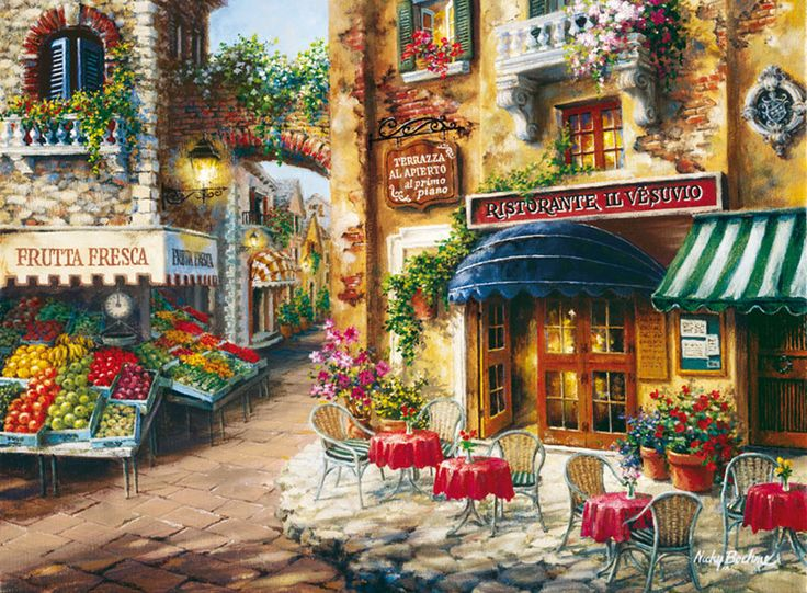 Buon Appetito Art By Nicky Boehme A 3000 Piece Jigsaw Puzzle Clementoni In Stock Delivery Australia Wide
