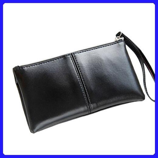 c763c707a92e 2017 New women wallets Coin zipper Pocket fashion long Design women s wallet  PU Leather black Wallet