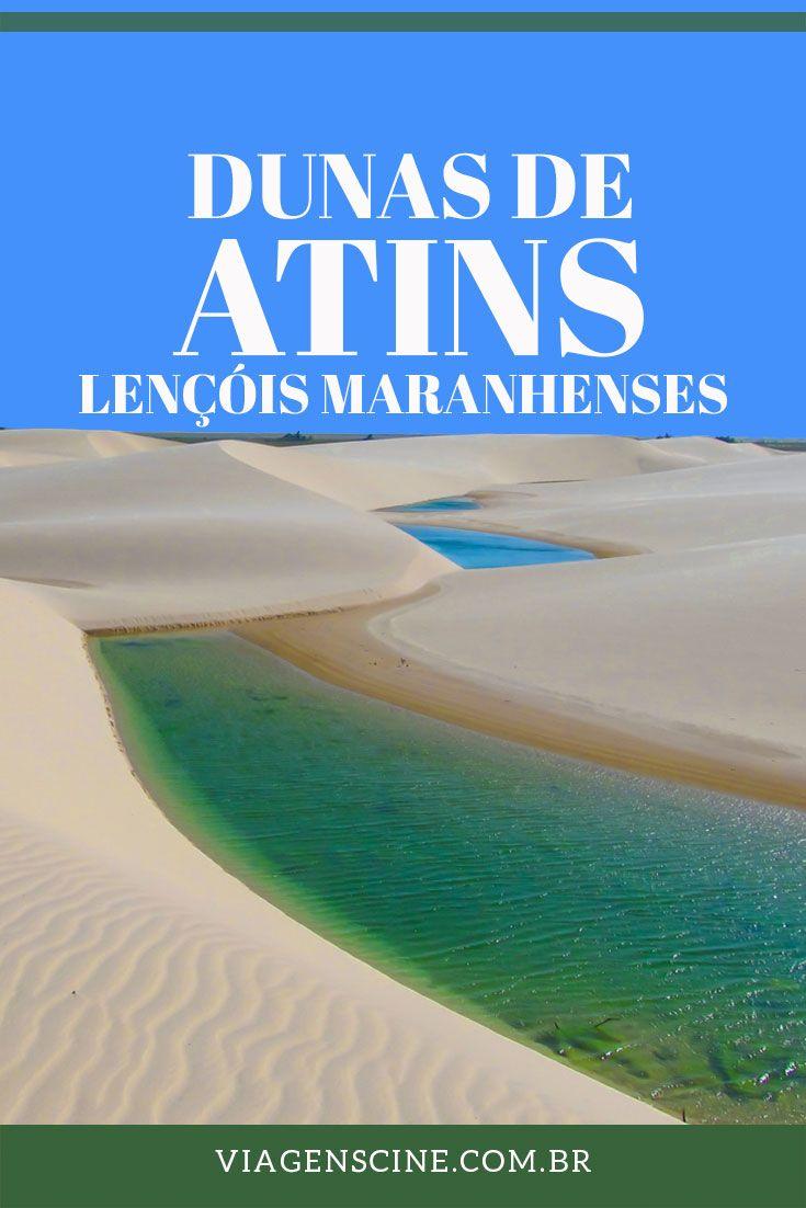 Atins: O que fazer, como chegar e onde ficar nos Lençóis Maranhenses. Atins é uma das bases para explorar os Lençóis: com dunas, praias e ruas de areia